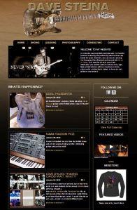 www.davestejna.com: Website development - design & coding.