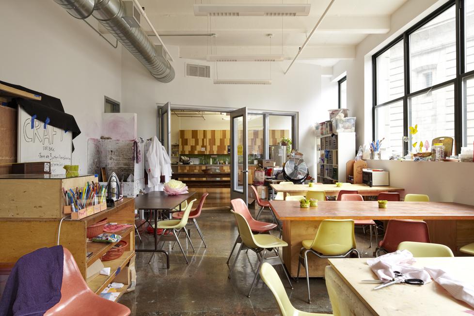 Creative company office