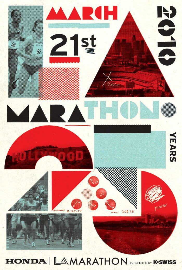 LA Marathon poster 2010