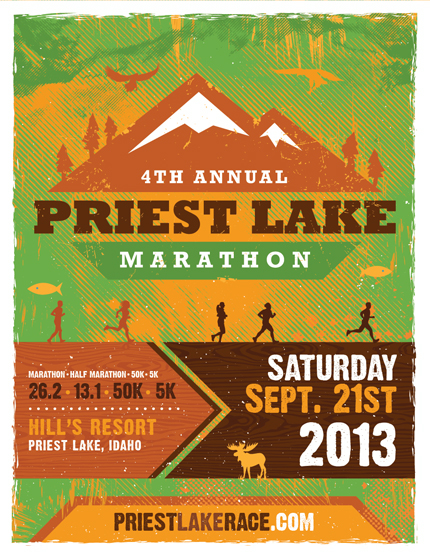 PriestLake_2013_Marathon_Poster